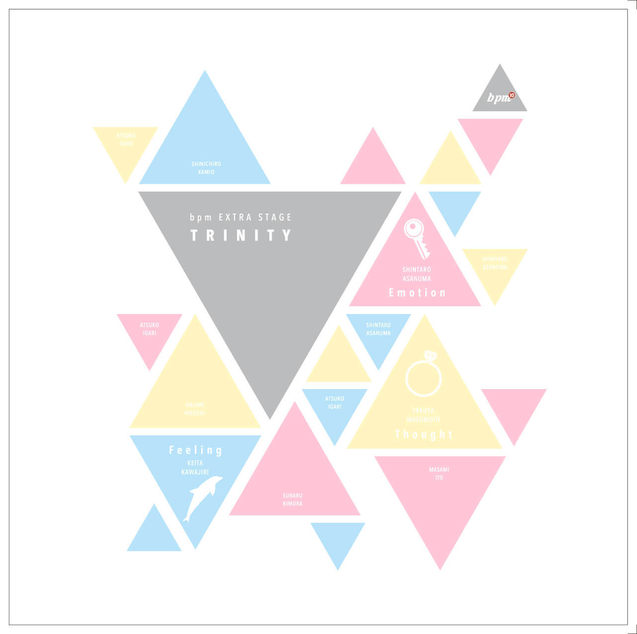 bpm EXTRA STAGE「TRINITY」3作品同時公演 class=