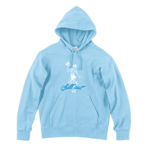 """Chilli"" Out パーカー(LIGHT BLUE)"